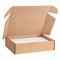 Cardboard Brown Die Cut Box, Box Capacity: 1-5 Kg