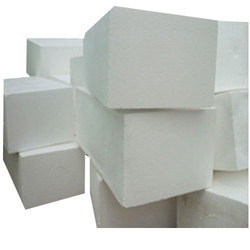 White Polystyrene Thermocol Block