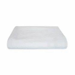 Reaxfeel White Luxury Cotton Towel, Size: 27