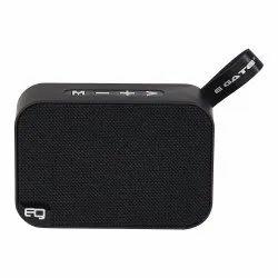 Egate Bond B303 Portable Bluetooth Speaker with Deep Bass and Mic (Black)