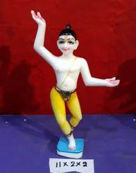 White Marble BEDI Iskcon Mahaprabhu