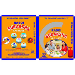 Suraksha LPG Hose Packaging Pouch