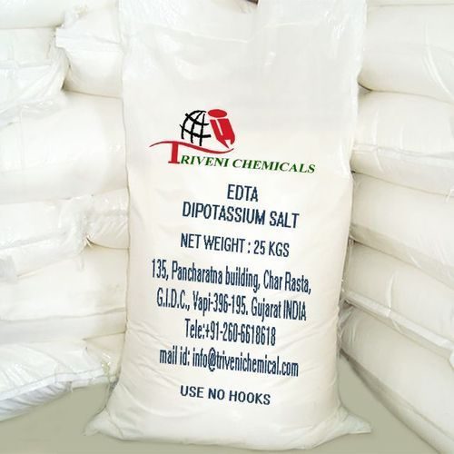Powder EDTA Dipotassium Salt, Packaging Type: Bag