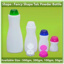 Fancy Shape Talc Bottle