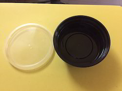 250ml Black Food Container