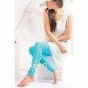 Straight Fit Bottom Printed Leggings