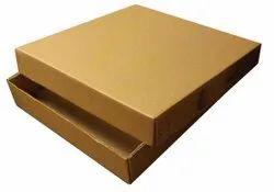 Brown Plain Duplex Box, Size: 1000x450x175 Mm
