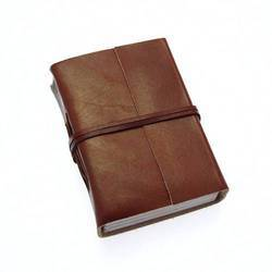 Single Belt Leather Journal