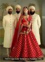 Wedding Wear Designer Silk Embroidery Work Lehenga Choli