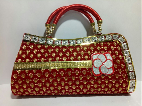 fa4b0e4f049 Red Fancy Evening Clutches, Rs 299 /piece, Rahman Bags Online | ID ...