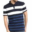 Mens Half Sleeves Polo Neck T-Shirts