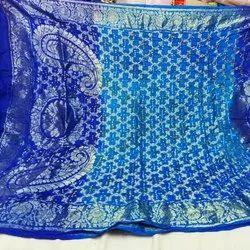 Bandhani Silk Banarasi Dupatta