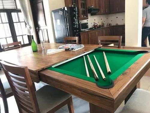 Fusion Pool Table Mutliuse Table Dining Table Combo 2 In 1 For Playing Id 21152678397