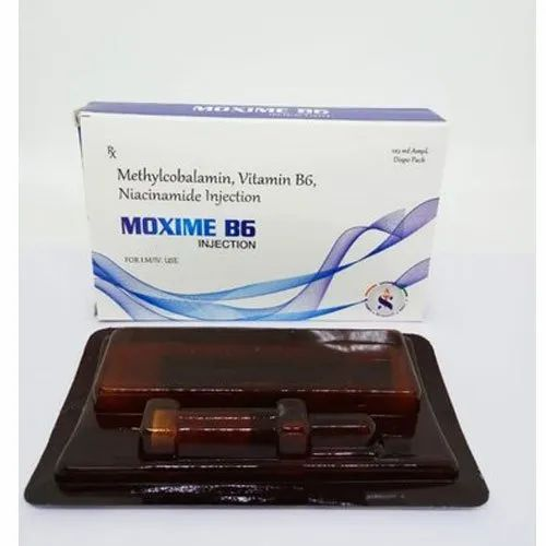 Methylcobalamin Vitamin B6 and Niacinamide Injection, Pack Size: 1x2 mL