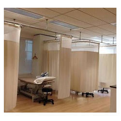 Hospital White Curtain