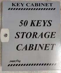 Paprsky Metal Key Cabinet Box - 50, For Keys
