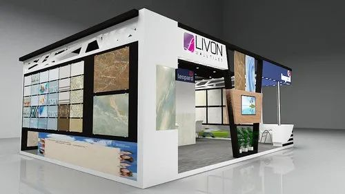 Exhibition Booth Graphics : Exhibition booth stall d design in vadodara core focus id