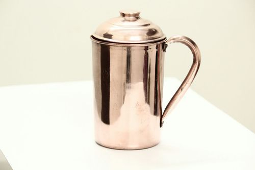 Brown Copper Plain Jug