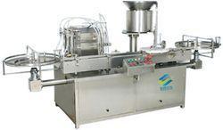 Automatic Volumetric Liquid Vial Filling Machine