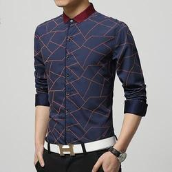 Men's Cotton Designer Printed Casual Shirts