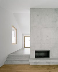 Grey Concrete Walls Finish For Roller