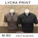 Casual Wear Printed Mens Stylish Check Shirt