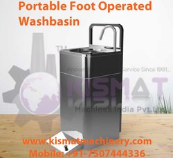 Mobile Foot Operated Hand Wash Sink
