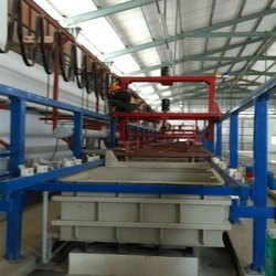 Automatic Barrel Plating Plant