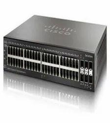48 Black Cisco Managed Switch Port