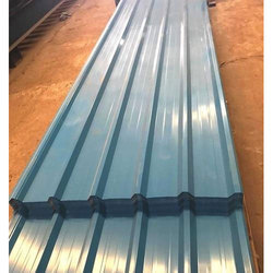 Bhushan Color Coated Roofing Sheet, Thickness: 0.30 to 0.80 mm