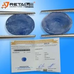 GII Certified Natural Blue Sapphire