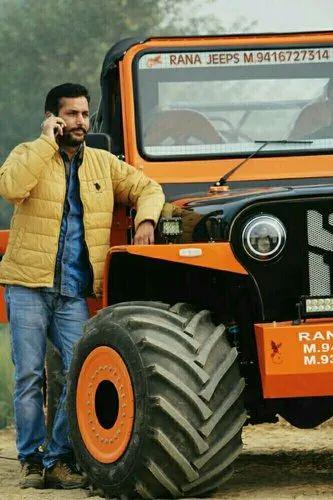 Jonga Jeeps At Rs 560000 Piece Dhaliwal Nagar Sirsa Id