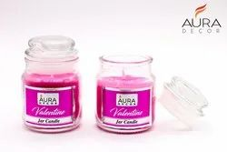 Auradecor Fragrances Valentine Jar Candle