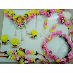 Yellow Pink Rose Jewellery
