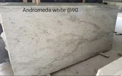 Polished Andromeda White Granites, For Flooring, Thickness: 15-20 mm