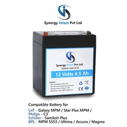 12 Volts 4.5Ah SLA Medical Battery