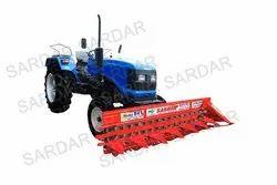 Mild Steel Tractor Mounted Reaper, Size: 7 Feet