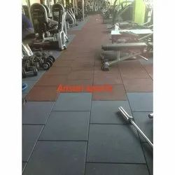 Rubberised Gym Flooring