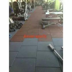 Rubberised Gym Flooring