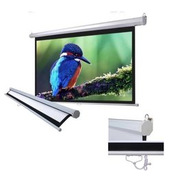 Slow Retraction Manual Projection Screens