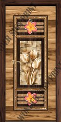 Stylish Laminated Door Paper