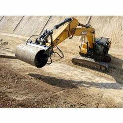 Roller Excavator Rental Services, Application/Usage: Material Handling