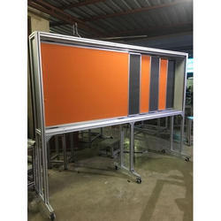 ALLUMINIUM Horizontal Six Sliding Writing Board
