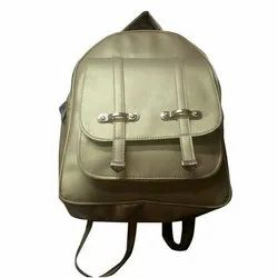 Ladies Golden Backpack