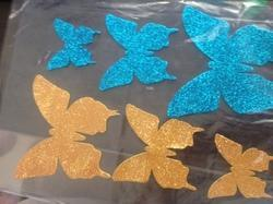 Handicraft Articles Using Glitter