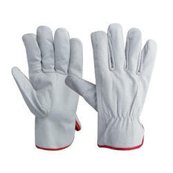 Leather Driving Hand Gloves
