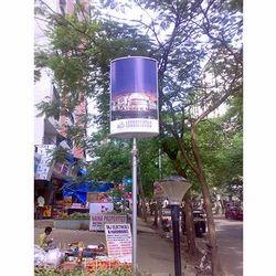 Elliptical Sign Board