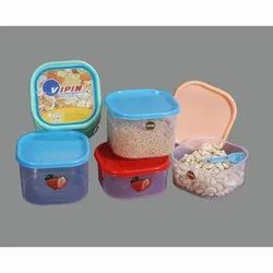 Vipin Plastic Ware Air Tight Food Container, Packaging Type: Box