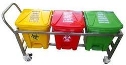 3 Bin With Trolley