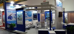 Decoration Designing Chemtech Exhibition Stall Design & Fabrications, For Trade Fair, Pan India